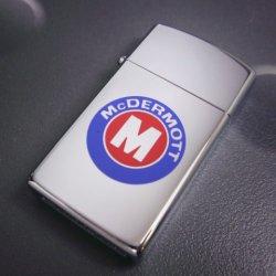 画像1: zippo McDERMOTT スリム 1992年製造