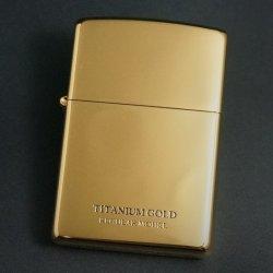 画像1: zippo UNMiX 200 ゴールドチタンコーティング 20-GOTT