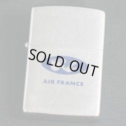 画像1: zippo AIR FRANCE 1968年製造 USED(裏全面にキズあり)