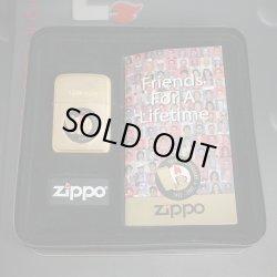 画像1: zippo 70th ANNIVERSARY 「Friends For A lifetime」70,000個限定 未開封
