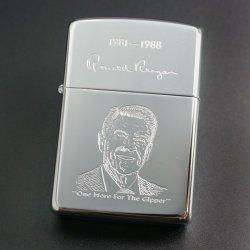 画像1: zippo アメリカ40代大統領レーガン 1989年製造