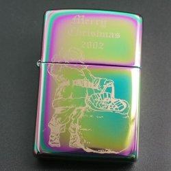 画像1: zippo X'mas サンタ スペクトラム 2002年製造