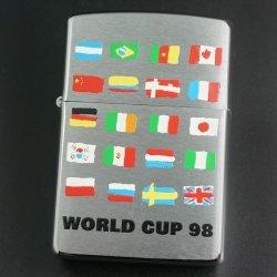画像1: zippo  FIFA WORLD CUP 国旗 1997年製造