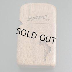 画像1: zippo 木巻き WINDY スリム 2005年製造