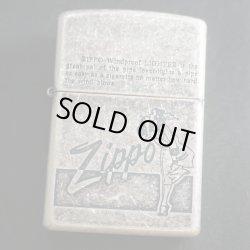 画像1: zippo WINDY エッチング バレル加工 1997年製造