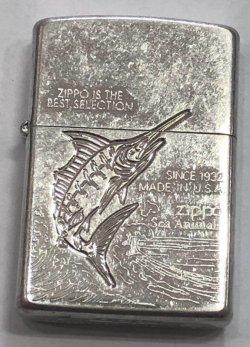 画像2: zippo ビンテージ カジキ 1996年製造