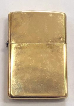 画像2: zippo 真鍮 1991年製造
